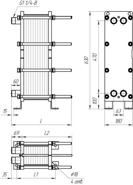 Теплообменник пар этиленгликоль Кожухотрубный теплообменник Alfa Laval Aalborg MP-C 30 Шадринск